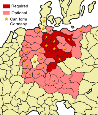 Form German Nation Europa Universalis Wiki - Germany map of provinces
